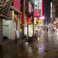 博多もつ鍋 いしれい - 入り口が分かりにくいですが・・・栄町通りにあります