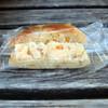 Mimoretto - 料理写真:オレンジベーグルのクリームチーズサンド