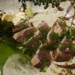 Azekura - 鰹の塩タタキ