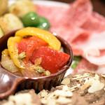 窯焼きピッツァ CiAO - 料理写真:前菜7種盛り