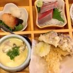 ばんどう太郎 - 季節の釜飯膳(今の時期はブリ)