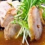 金丸本店 - 鶏味噌タンメン「あっぷ図」