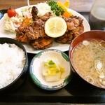34975437 - 唐揚げ定食¥1000