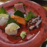 ミシマ - 刺身5種盛り