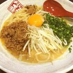 蔵出し味噌 麺場 田所商店 - 江戸味噌和え麺  864円