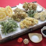 ブッフェ エクスブルー - 野菜の天ぷら!ディナー限定!