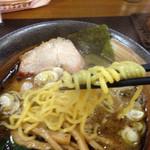 喜楽 - H27.02.08 麺はぷりぷりしていてとても食感が良くて美味しい。