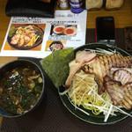 喜楽 - H27.02.11 長男くんが食べたつけ麺。