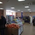 道の駅 白崎海洋公園 - 農産物や海産物が販売されています