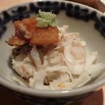 鮨 行天 - 竹崎蟹の蒸しすし