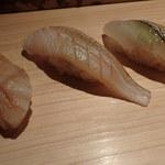 鮨 行天 - 岡山からみる貝、鱚、さより