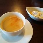 オステリア ピッカンテ ウノ - コーヒー