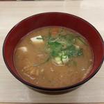 松屋 - 豚汁(180円)