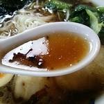 34984401 - こくまろらーめん・醤油 スープ