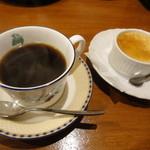 西東詩集 - 日替わりコーヒー+クレームブリュレ