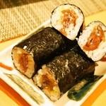 幸ちゃん寿司 - 山葵入りかんぴょう巻き
