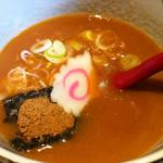 六三六 - スープ(つけ麺)