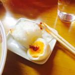 龍王 - おにぎりにもゆで卵にもこの味噌が超〜合う。