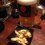 34989351 - 生ビール中(サントリーモルツ)380円