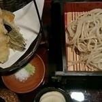 三立十割 蕎麦人 - 天せいろ(1480円)