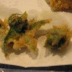 天ぷら じゅらく - ふきのとう