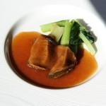 中国料理 皇苑 - 干し鮑の醤油煮込み2