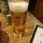 東京やきとり亭 - 生ビール