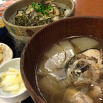 港食堂 - かき丼&漁師汁