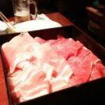 こだわり亭 - しゃぶしゃぶ肉:豚、牛