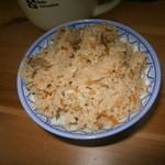 tenukiudommarushin - 炊き込みご飯