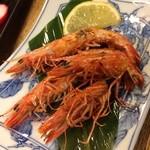 錦寿司 - 焼き車海老