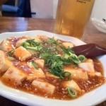 白鳳 - ほどよい辛さの麻婆豆腐