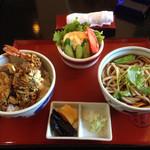 やなぎや - 料理写真:天丼セット
