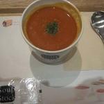 スープ・ストック・トーキョー - オマール海老とわたり蟹のソープ
