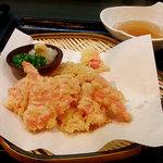 烏帽子 - 紅しょうがの天ぷら(380円)