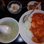35001561 - エビチリ丼