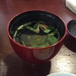 小川菊 - 肝吸い