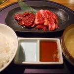 焼肉居酒家 韓の台所 - 選べるお肉ランチ