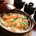 手作り料理と地酒 おと - 料理写真:【3・4月】しらすと桜鱒のかまど飯