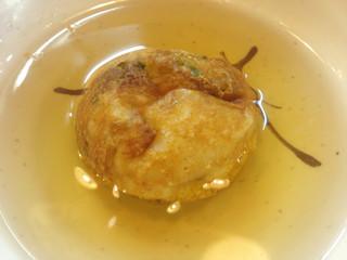 元祖 味穂 - お出汁につけて食べるたこ焼き