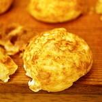 よこ井 - 明石焼きの食べ方の基本は、冷めてから食べ物とのこと