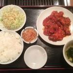 35009593 - すじ焼定食