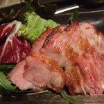 でん八 - 豚肉のあぶり