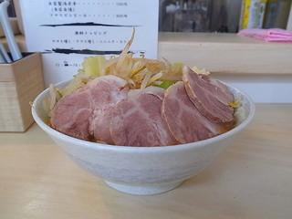 ラーメン JIDAI - ラーメン豚増しめん大盛り(ヤサイ増し、ニンニク)