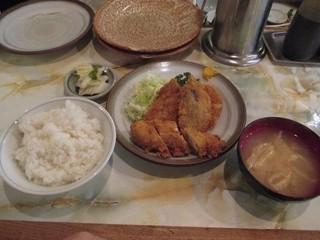富士川食堂 - フライ盛合せ定食