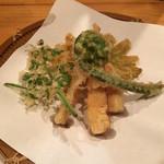 仁 - 筍の天ぷら