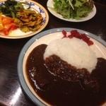 カフェ・ハイチ - Bセット(ビーフカレー)