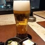 35015439 - 生ビールとお通し