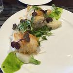 ビストロ ヌー - 真鱈のカダイフ巻き