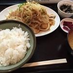 田や - 生姜焼き定食